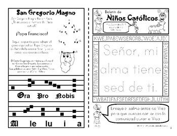 Septiembre 2017 Boletín para Niños Católicos