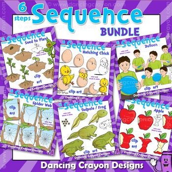 Sequencing Cards and Sequence Clip Art