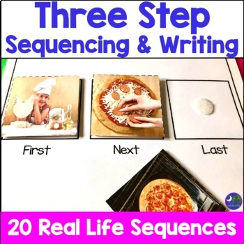 Sequencing Pictures with Real Photos Three Steps