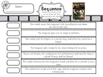 Sequence Activities - {Using YouTube video clips}