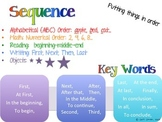 Sequence Anchor Chart