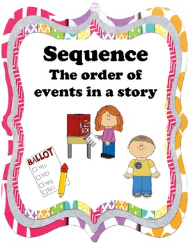Sequence Anchor Chart Printable by Katie Corley | Teachers Pay ...