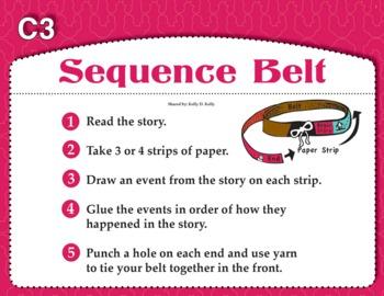 Sequence Belt (Common Core RI 3.3)