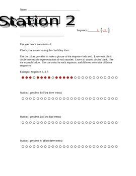 Sequence Bracelet Activity