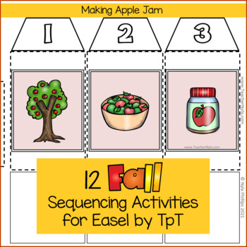Sequence Cards - Fall Themed