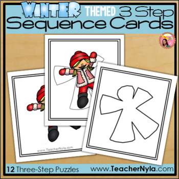 Sequence Cards - Winter Themed