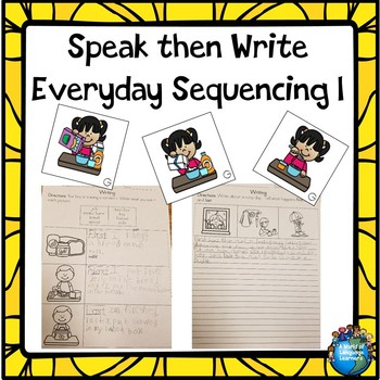 Everyday Sequencing Cards and Writing Pages