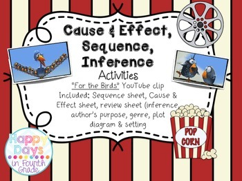 "Sequence, Cause&Effect, Inference {Using YouTube Video - ""For the Birds""}"