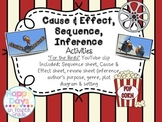 """Sequence, Cause&Effect, Inference {Using YouTube Video - """"For the Birds""""}"""