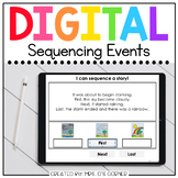 Sequence Events Digital Basics for Special Ed | Distance Learning