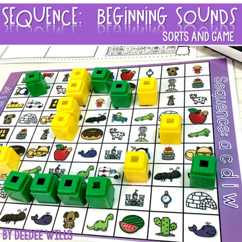 Sequence Game Sets and Sorts for Beginning Sounds