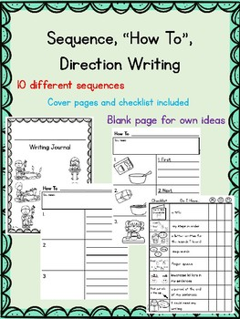 How To, Sequence, Direction Writing