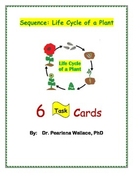 Sequencing Activities: Life Cycle of A Plant,  CCSS