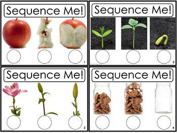 Sequence Me! Task Card Set