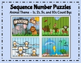 Sequence Number Puzzles (1s, 2s, 5s, 10s Count Bys) [Anima