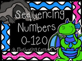 Count & Sequence Centers- Numbers 0-120- Common Core Grade 1