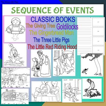 Sequence Of Events From Classic Books - English & Spanish