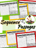 Sequence Passages Reading Comprehension RL2.5 | Second Grade