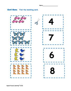 Kindergarten Math: Count & Compare, Measurement, Themed Activities