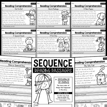 Sequence - Reading Passages