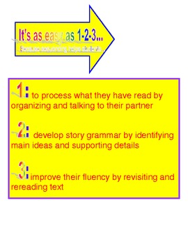 Sequence Reading Work Station / Literacy Center