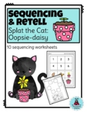 Sequence & Retell: Splat the Cat Oopsie Daisy