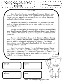 Sequence-Story Cards