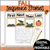 Sequence Fall Writing Prompts - Google Classroom™/Slides™ Distance Learning