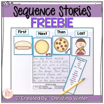 Sequence Story Writing Prompts FREE