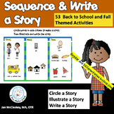 Sequence Story Writing and Drawing