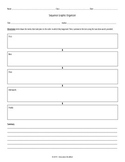Sequence & Summary Graphic Organizer - CUSTOMIZABLE!
