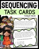 Sequence Task Cards for Reading Comprehension