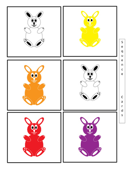 Sequence White Rabbit's Color Book