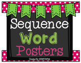 Sequence Word Posters