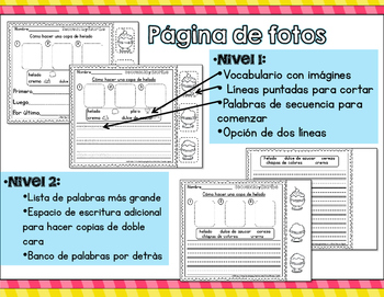 Sequence write spanish version by brenda tejeda tpt sequence write spanish version ccuart Image collections