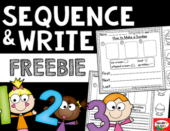 Sequence & Write FREEBIE