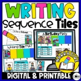 Sequence Writing | Story Sequencing | Narrative Writing Se