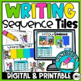 Sequence Writing | Nonfiction Writing | Science Sequencing