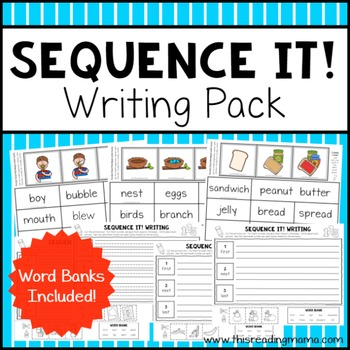 Sequence Writing Pack - Sequence It!