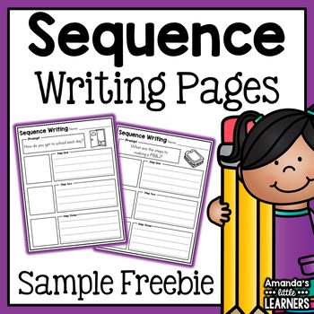 Sequence Writing Prompts Sample - Free