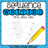 Sequence Writing (first, next, last) (vertical)
