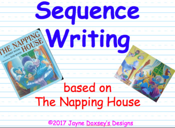 Sequence Writing with The Napping House