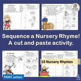 Nursery Rhymes Sequencing