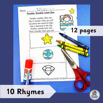 Sequence a Nursery Rhyme! A cut and paste activity. (SASSOON)