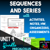 Sequences and Series Activity Bundle for PreCalculus and Algebra