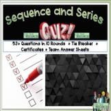 Sequence and Series Math Quiz