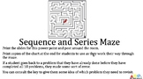 Sequence and Series Maze
