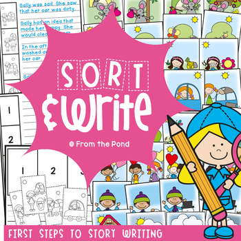 Story Sequencing Activities for Writing {Sort and Write}