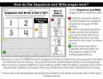 Sequence and Write: How To Writing