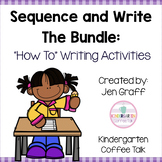 "Sequence and Write ""How to"" Activities: The Bundle"